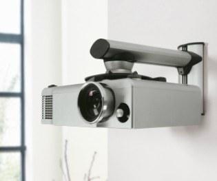 support pour videoprojecteur mur
