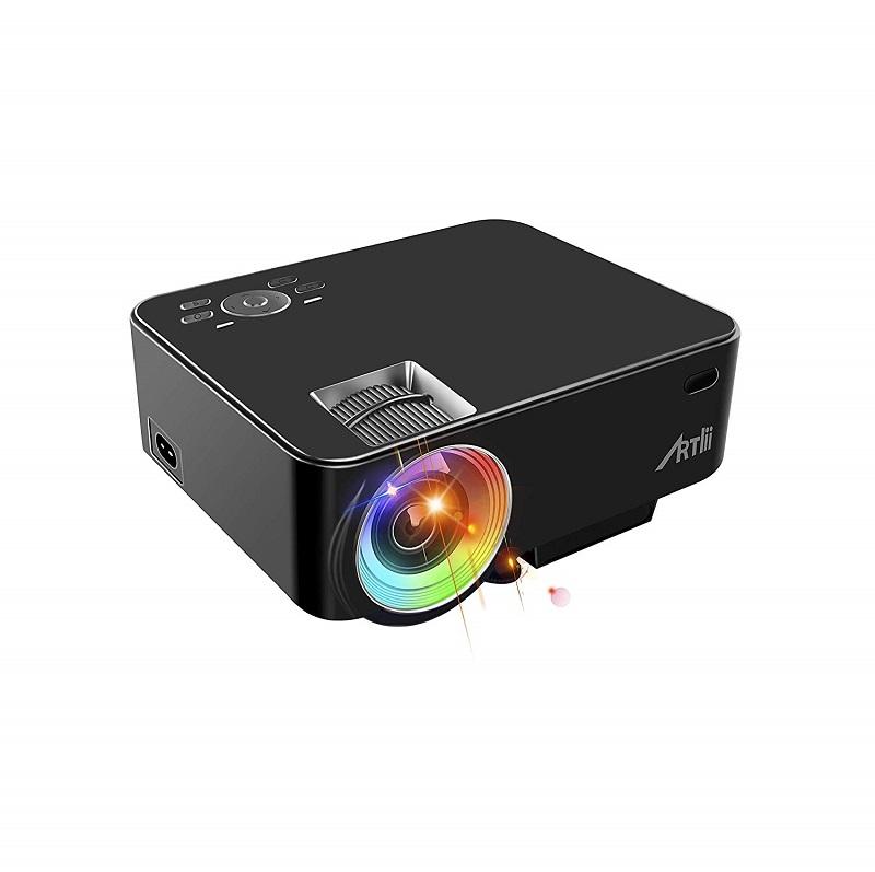 videoprojecteur led full hd pas cher artlii 1080p
